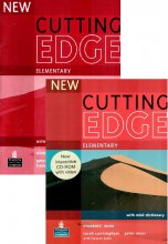 New Cutting Edge. Elementary. Workbook+Students book+Dictionary