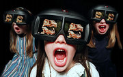 Фильмы,  мультфильмы в 3D формате