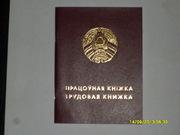 Книжка , белорусский образец, чистая