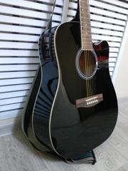 Гитара новая 6-ти струнная + комплект струн